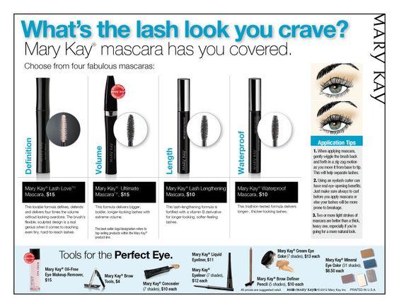 Mary Kay Mascara's