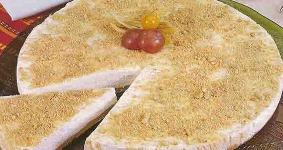 Receita de Torta de Nata com Amêndoas