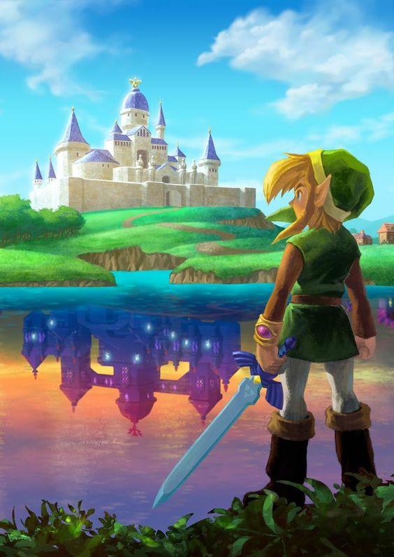 The Legend of Zelda - A Link Between Worlds (3DS)