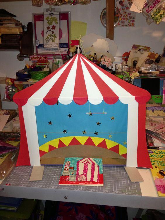 Como hacer una carpa personajes de un circo como hacer for Como hacer un criadero de carpas