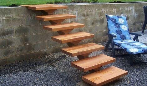 Petit Escalier De Jardin Par Aurep Escalier De Jardin Amenagement Jardin Cloture Petit Escalier