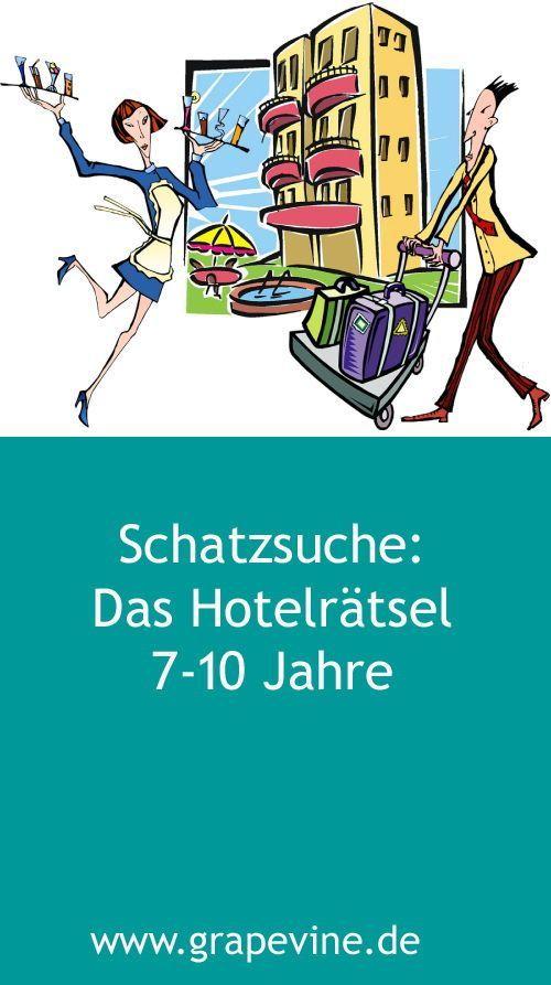 Schatzsuche Das Hotelratsel 7 10 Jahre Detektiv Geburtstag