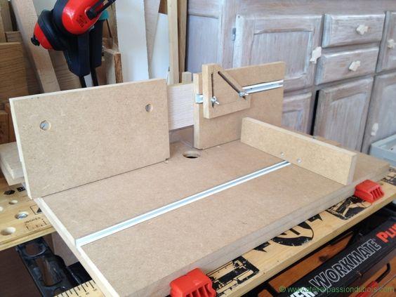 defonceuse sous table etabli pinterest atelier tables and montages. Black Bedroom Furniture Sets. Home Design Ideas