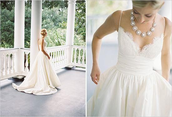 Wedding Dress With Pockets And Spaghetti Straps : Gown pockets one strap wedding dresses simple strapless dress