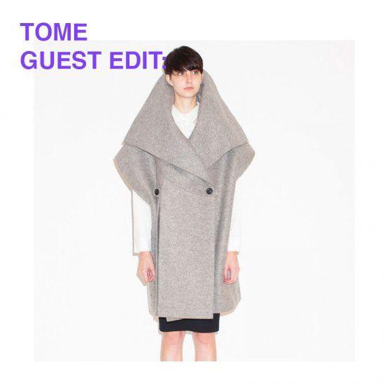 Found on OhLike: Tome Wool Felt Cape