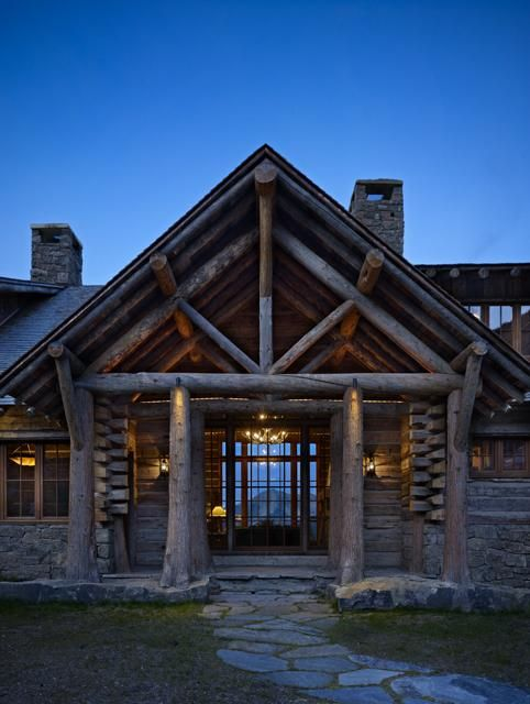 Pinterest the world s catalog of ideas for Log home architects