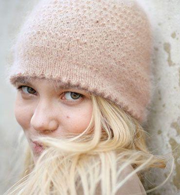 modele tricot bonnet rond
