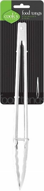 cook's kitchen stainless steel food tongs Case of 96