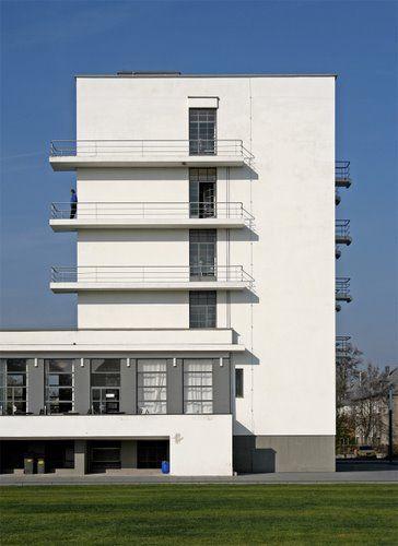 Germany. Dessau - Bauhaus / Walter Gropius