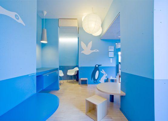 Fresh Children us Medical Practice by Hiendl Schineis Architekten in Germany Medical practice design and structure Pinterest