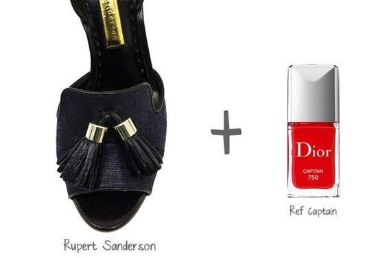 Sandales : Les plus beaux vernis à ongles