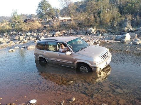 Off Road Testing Of Suzuki V6 Grand Vitara Xl7 2003 Model Youtube Grand Vitara Offroad Suzuki