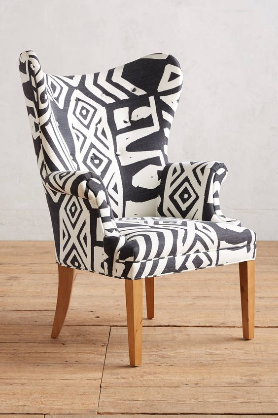 Shop the WHIT Geo-Printed Wingback Chair and more Anthropologie at Anthropologie today. Read customer reviews, discover product details and more.