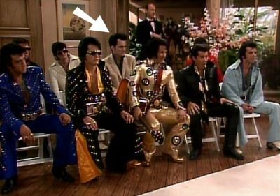Quentin Tarantino once played an Elvis impersonator on the TV show Golden Girls.
