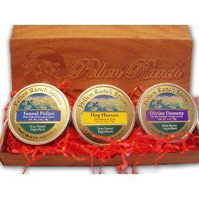 Pollen Ranch Gift Pack (3 tins) $27.00