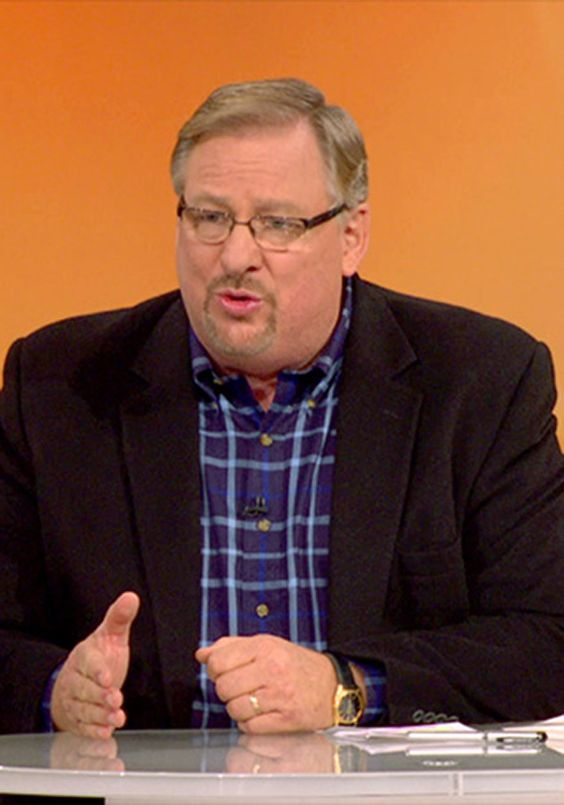 Pastor Rick Warren on the 5 Things That Shape You
