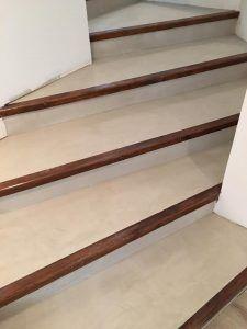 Modernisez Vos Escaliers Avec Un Revetement Enduit Beton Cire Escalier Beton Cire Beton Cire Escalier Beton