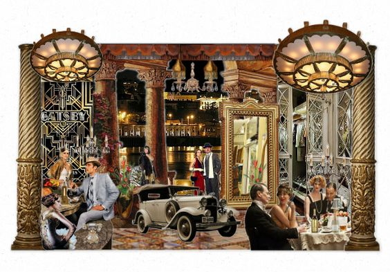 The Great Gatsby by kelski | Olioboard