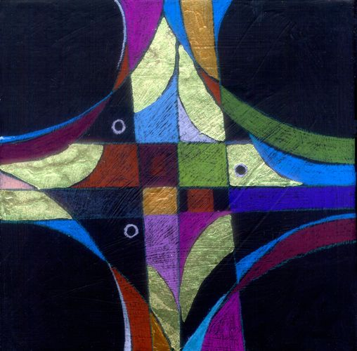 Sign of the Cross, 10 x 10, giclee print 2011