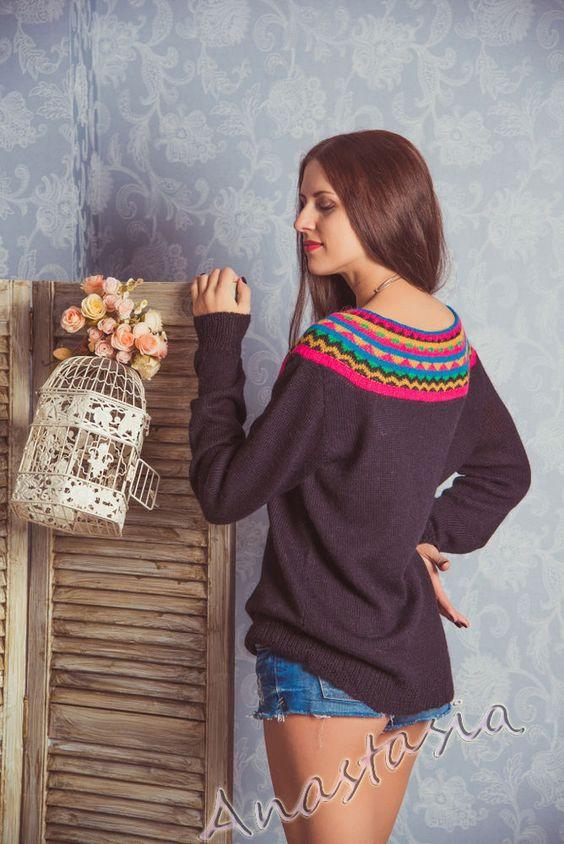 описание свитера: