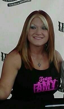 Amy Shirley (Lizard Lick Towing) love this tough take nothing from anyone gal and she has brains too.