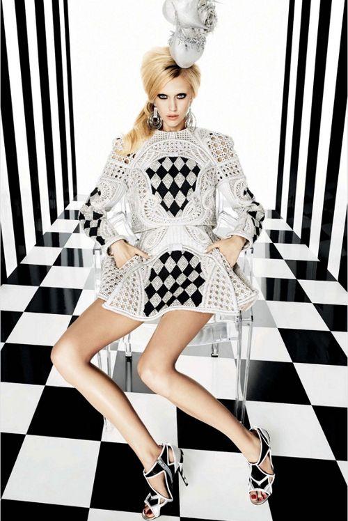 Hanne Gaby Odiele  Juliana Schurig for Vogue Japan