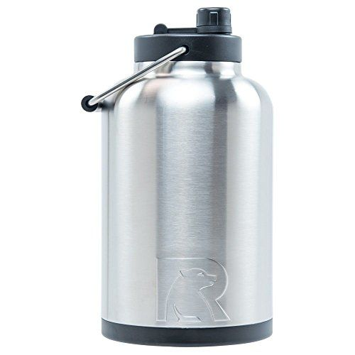 Rtic One Gallon Vacuum Insulated Jug Stainless For Product Price Info Go To Https All4hiking Com P Insulated Water Bottle Gallon Water Bottle Water Jug