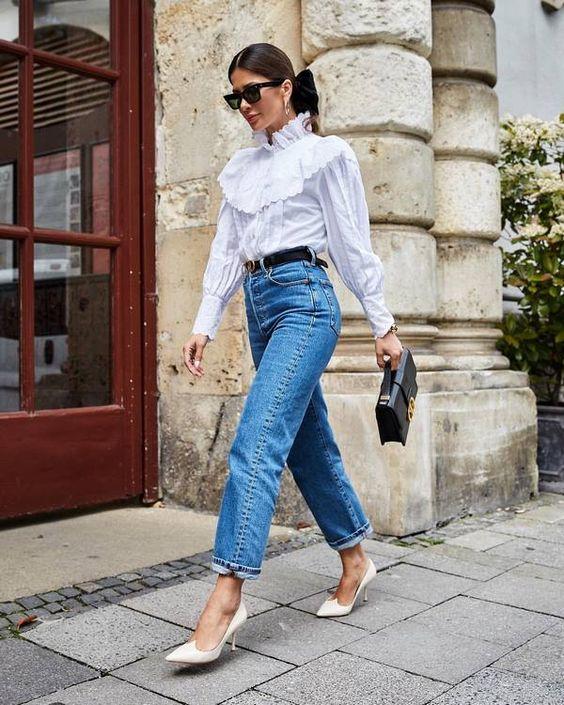 Женские джинсы 2019-2020: новые модели и фасоны джинсов, тенденции и тренды сезона на фото