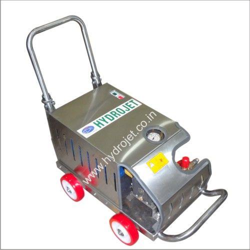 Manufacturer Of Industrial High Pressure Water Jet Cleaning Machine And Rotary Bin Washing Machine According To Customer With Images Water Jet Washing Machine Jet Machine