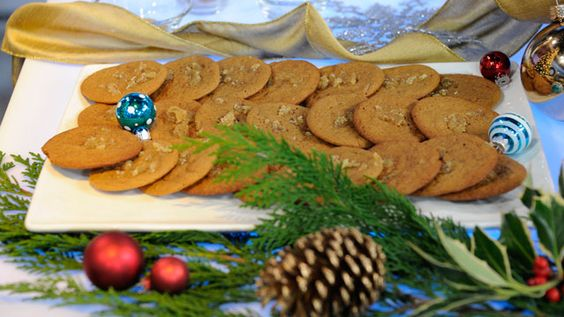 Emeril's Chewy Ginger Cookies - Get the recipe here: http://abcn.ws/1w2iBOA