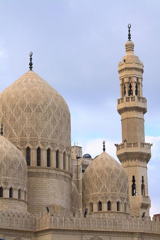 * Египет - джамията Абу Ел-Абас ел-Мурси -, Александрия