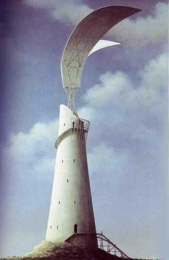 Fusion of fantasy and architecture. Minoru Nomata