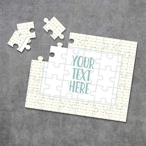 Announcement Ideas Personalized Puzzle Custom Puzzle Wedding Announcement Create Your Own Puzzle CYOP0206 Pregnancy Announcement