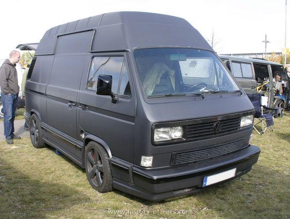 vw t3 panel van equipped with an audi v8 vw transporter pinterest audi and van. Black Bedroom Furniture Sets. Home Design Ideas