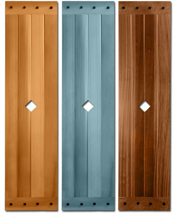 M3 mission style board and batten shutter shutter for Mission style shutters