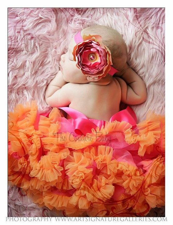 Couture Baby Couture Baby Couture Baby.. so sweet & I am so in love with the colors!