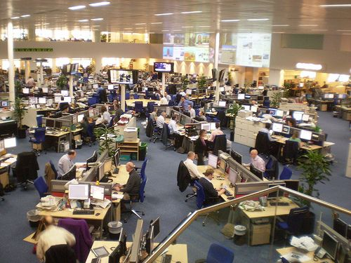 Daily Telegraph Newsroom 2007
