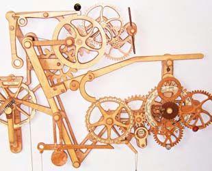 Fantastic Arts Amp Crafts Mantel Clock Plan Amp Parts  Schlabaugh Amp Sons