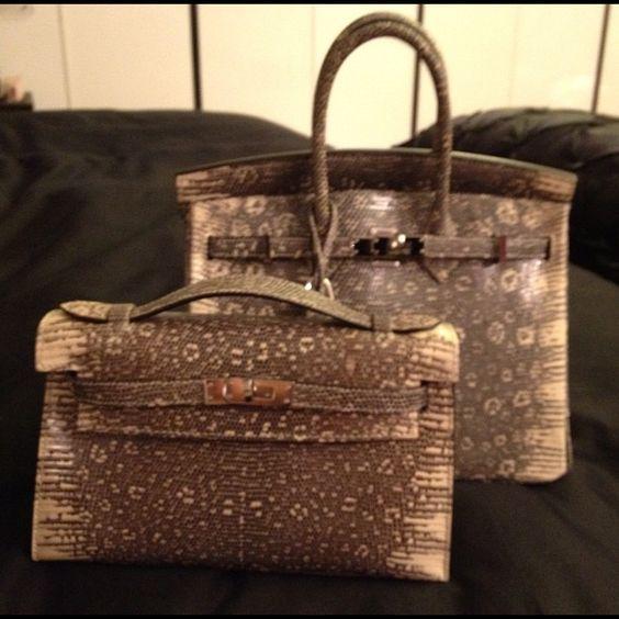 berkin bag price - 25 Ombre Lizard Birkin & Ombre Lizard Kelly Pochette | Bags ...