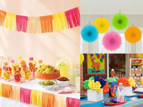 Ideas para la decoraci n de una fiesta 5 de mayo ideas - Ideas decoracion fiesta ...