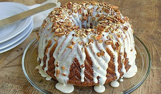 Lightened Hummingbird Bundt Cake Recipe | http://aol.it/1ArQtBd