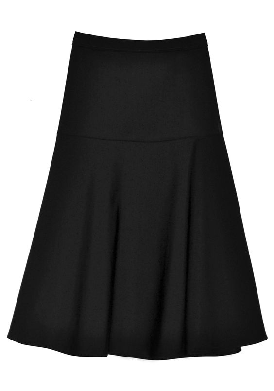Tech Mid Calf Skirt | Shop the latest women's fashion at Pol Clothing