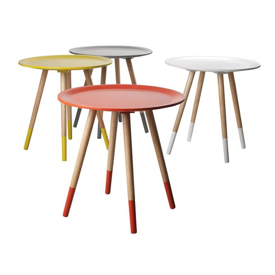 Two Tone Side Table, Various Colours | ACHICA