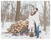 winter maternity photo shoot idea's