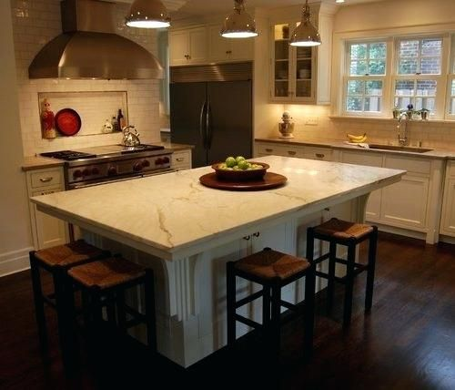 Kitchen Island Seating For 4 Kitchen Island Seats 4 Awesome 4 Seat Kitchen Islan Kitchen Island With Seating Modern Kitchen Island Design Modern Kitchen Island