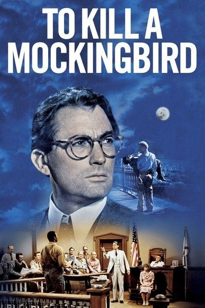 To Kill A Mockingbird (1963) • Gregory Peck, Mary Badham, Phillip Alford, John Megna, Robert Duvall, Brock Peters