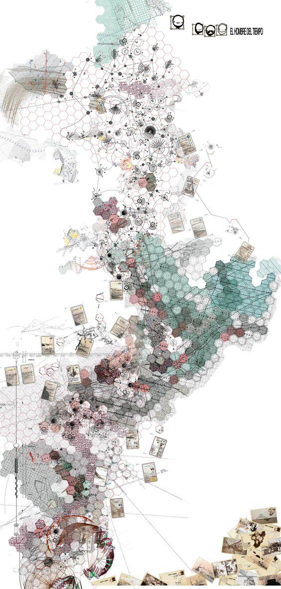 El Hombre del tiempo - tablero de juego El Hombre del Tiempo es un trabajo de arquitectura y geografía experimental realizado en el ámbito del Área de Proyectos Arquitectónicos de la titulación de...