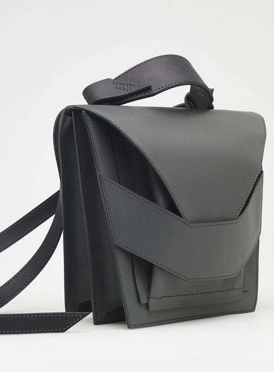Layered Metallic Bag   Linda Sieto
