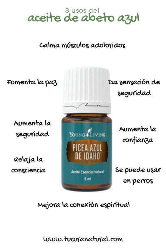 usos del aceite de abeto azul