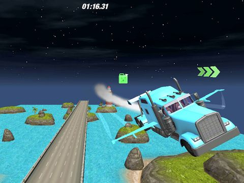 Traffic Driving In Sky : Real Truck Flying Simulation Game 3D...: Traffic Driving In Sky : Real Truck Flying… #ipad #Games #Simulation